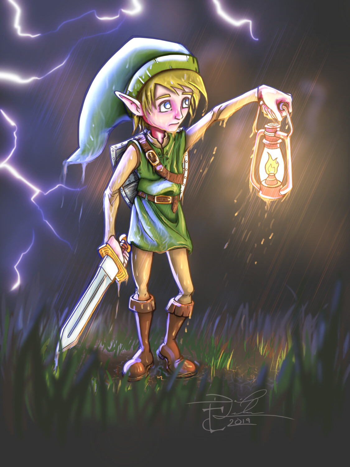 A Link to the Past Fanart.