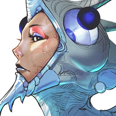 Ahmed rawi armor girl c