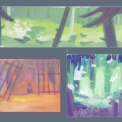 Elisa moriconi 3 col sketches