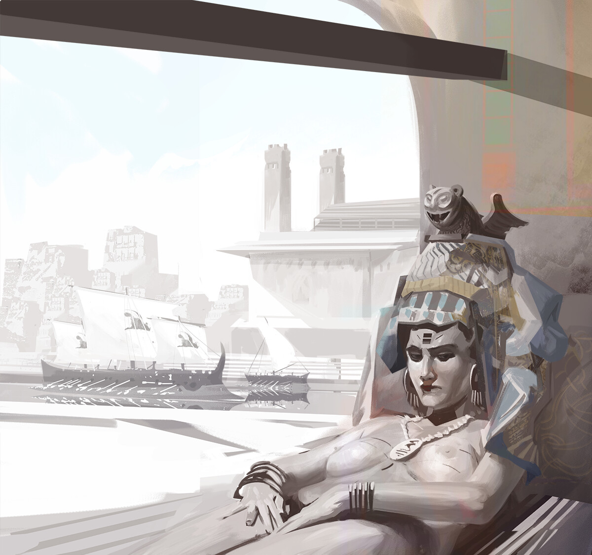 Sybaris  (Character and Environment ) - Fragments of the Past