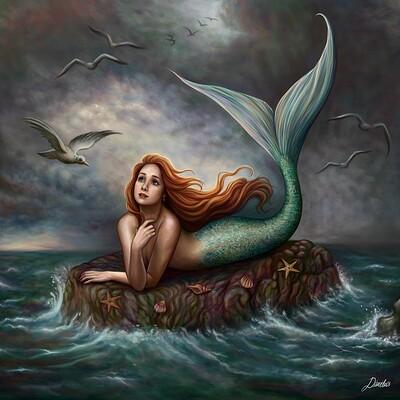 Dimitris karakousis mermaids wish
