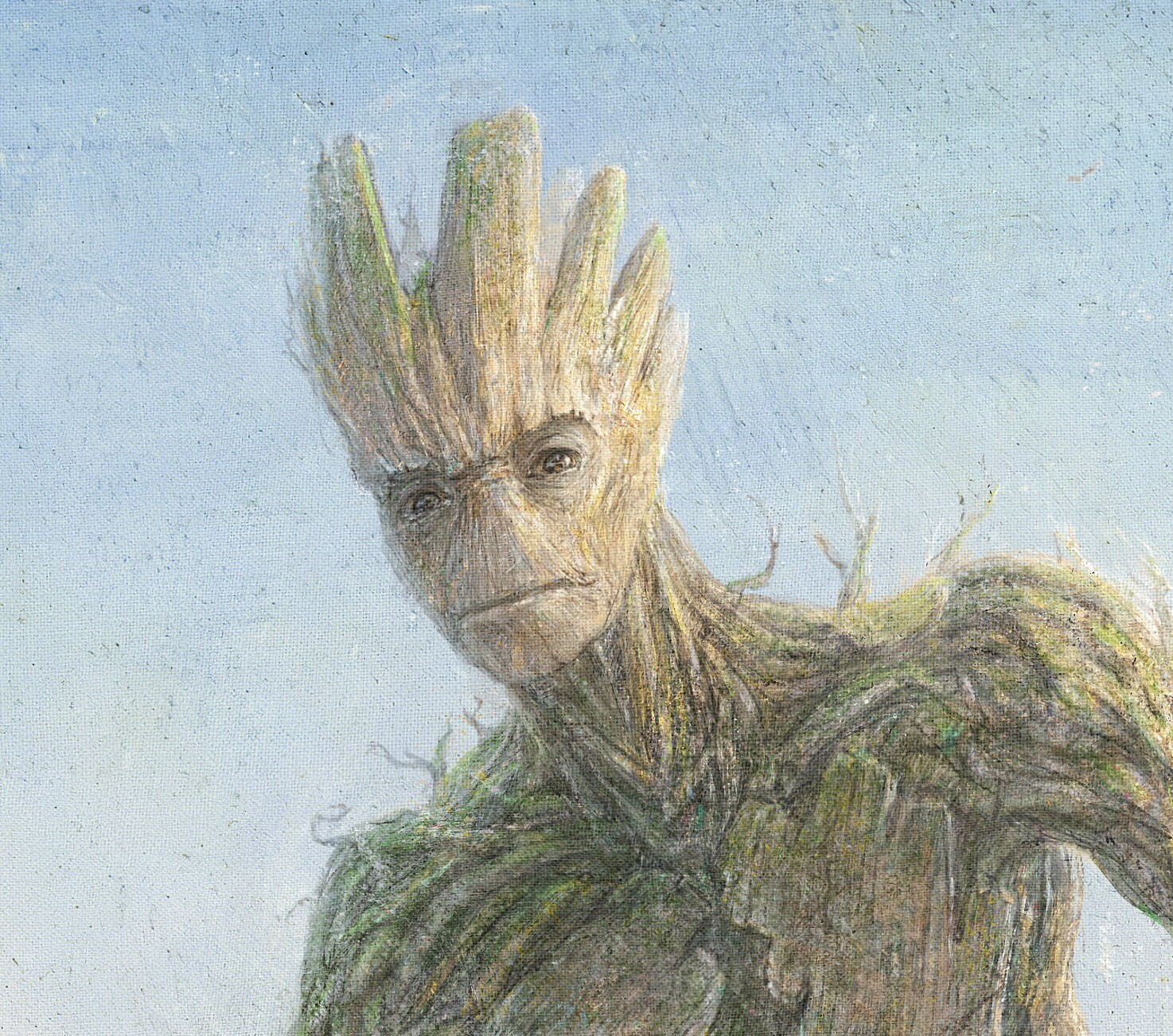Close-up Groot