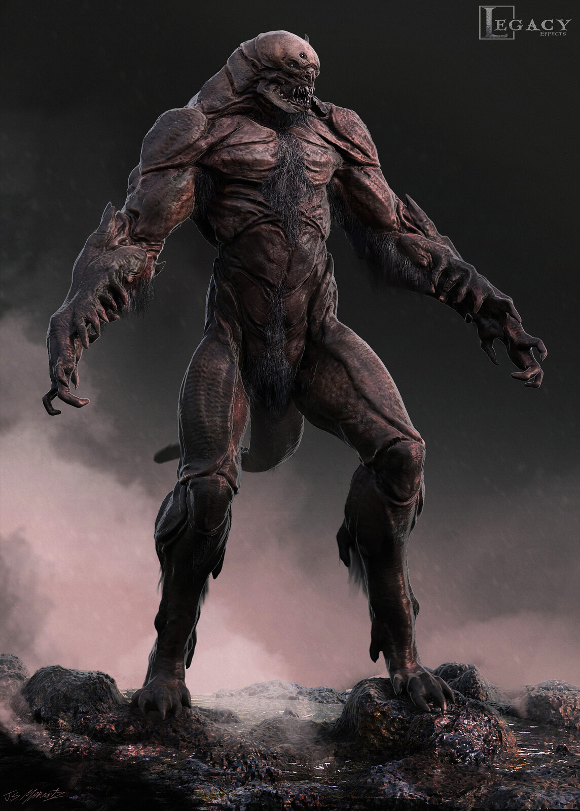 The Wall: Early Creature Design
