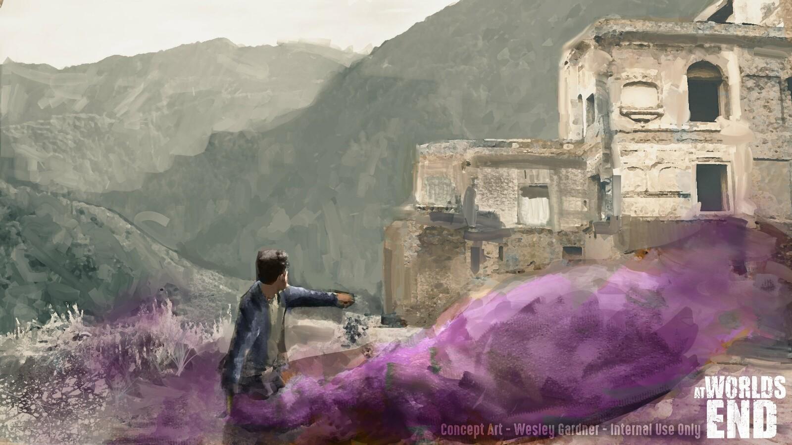 Key art #2 (smoke bomb ambush)