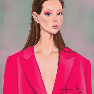 Rye adriano hot pink