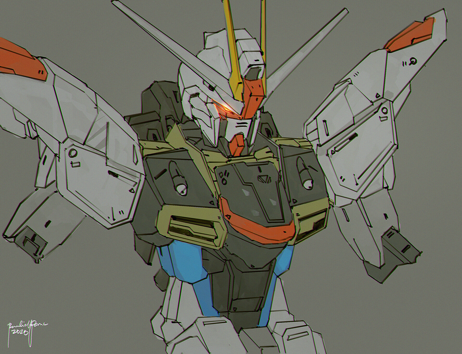 Freedom Gundam Fanart