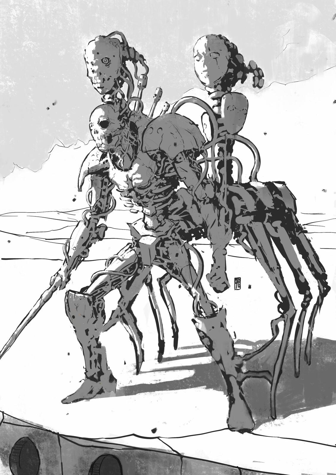 Threshold Plains Wanderer//01