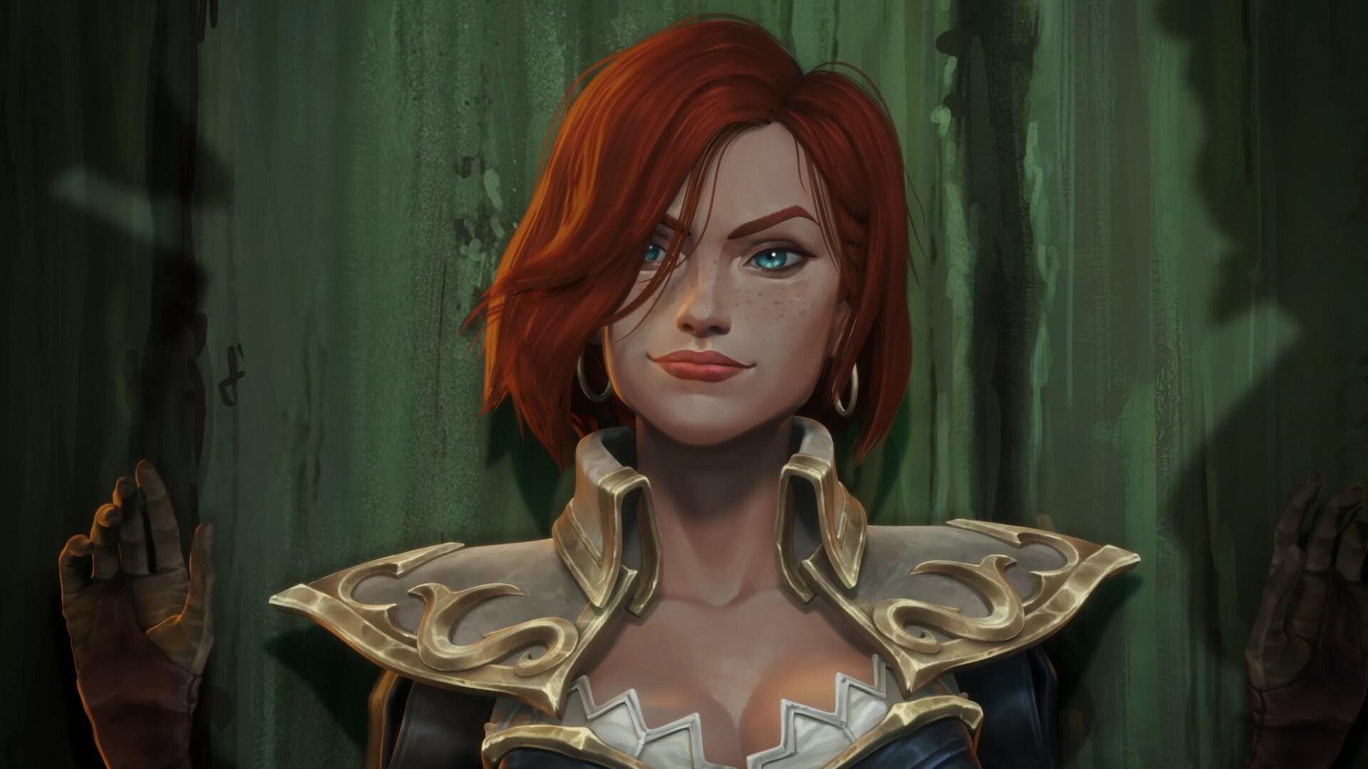 "ArtStation - Tales of Runeterra: Bilgewater | ""Double-Double Cross"", Tamas  Sarffi"
