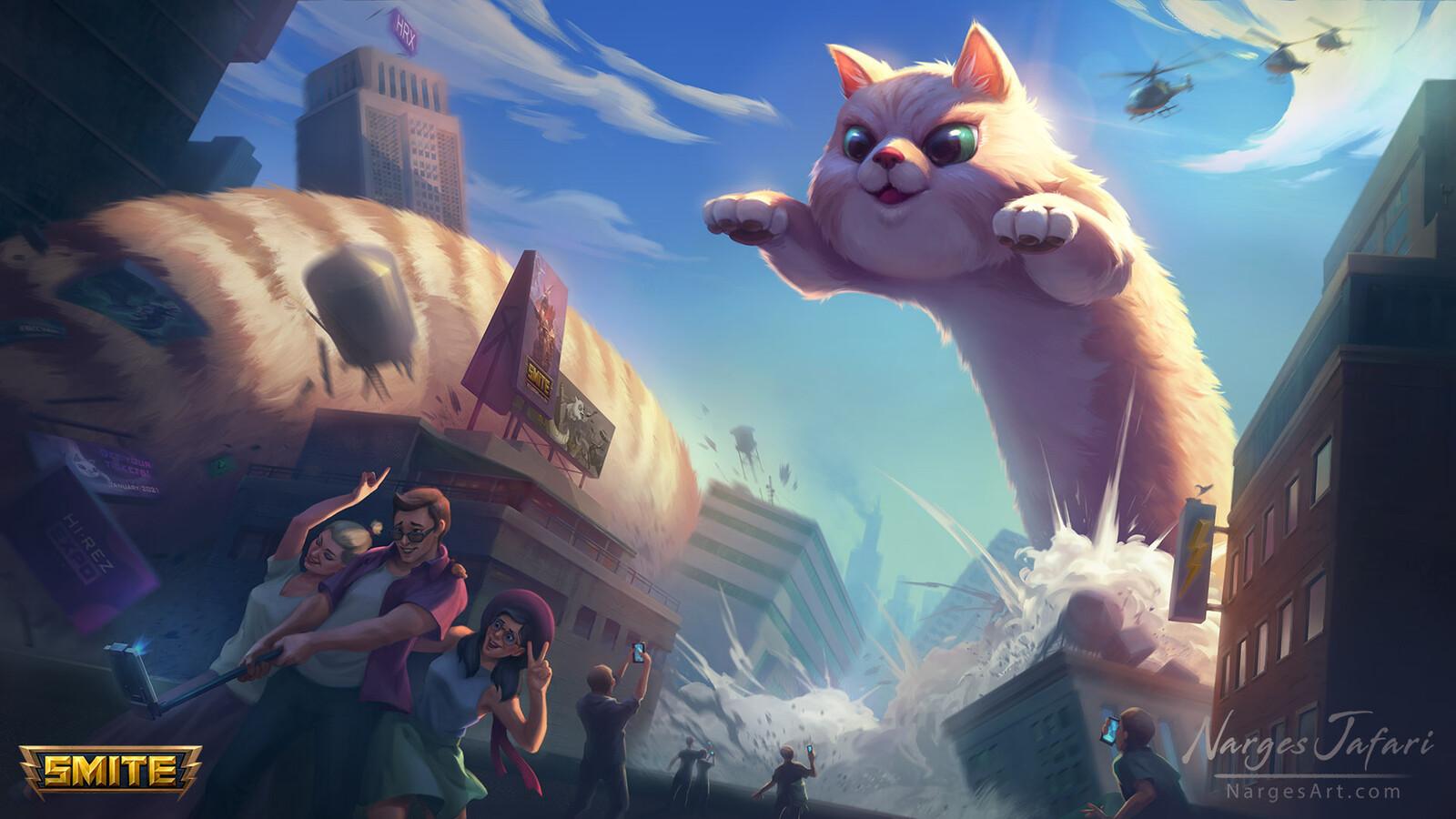 World Kitty Jormungandr