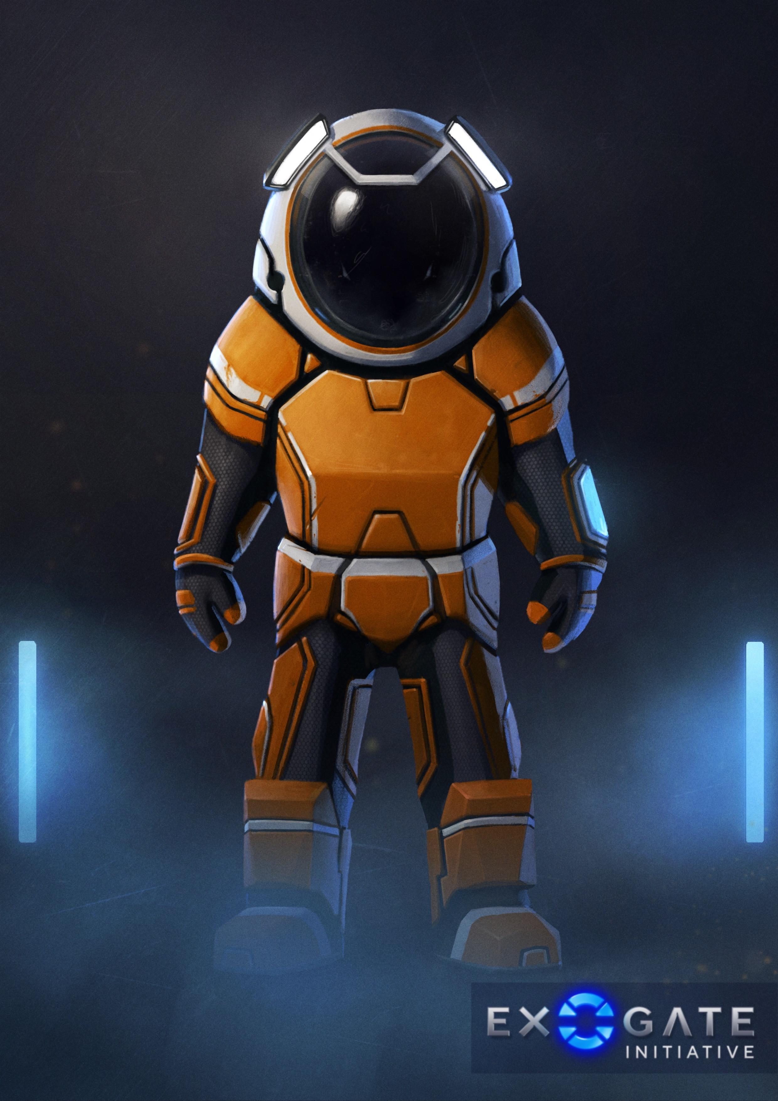 Space exploration suit - Heavy variant
