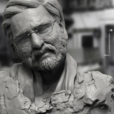 Surajit sen babu2 0 digital sculpture surajitsen april2020a