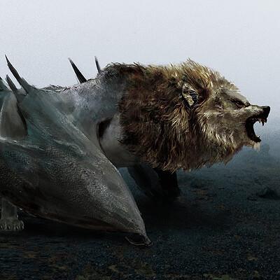 Camille alquier concetp monster batlionwolf