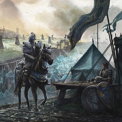 Francis goeltner the siege scene 04 king s camp final sig m