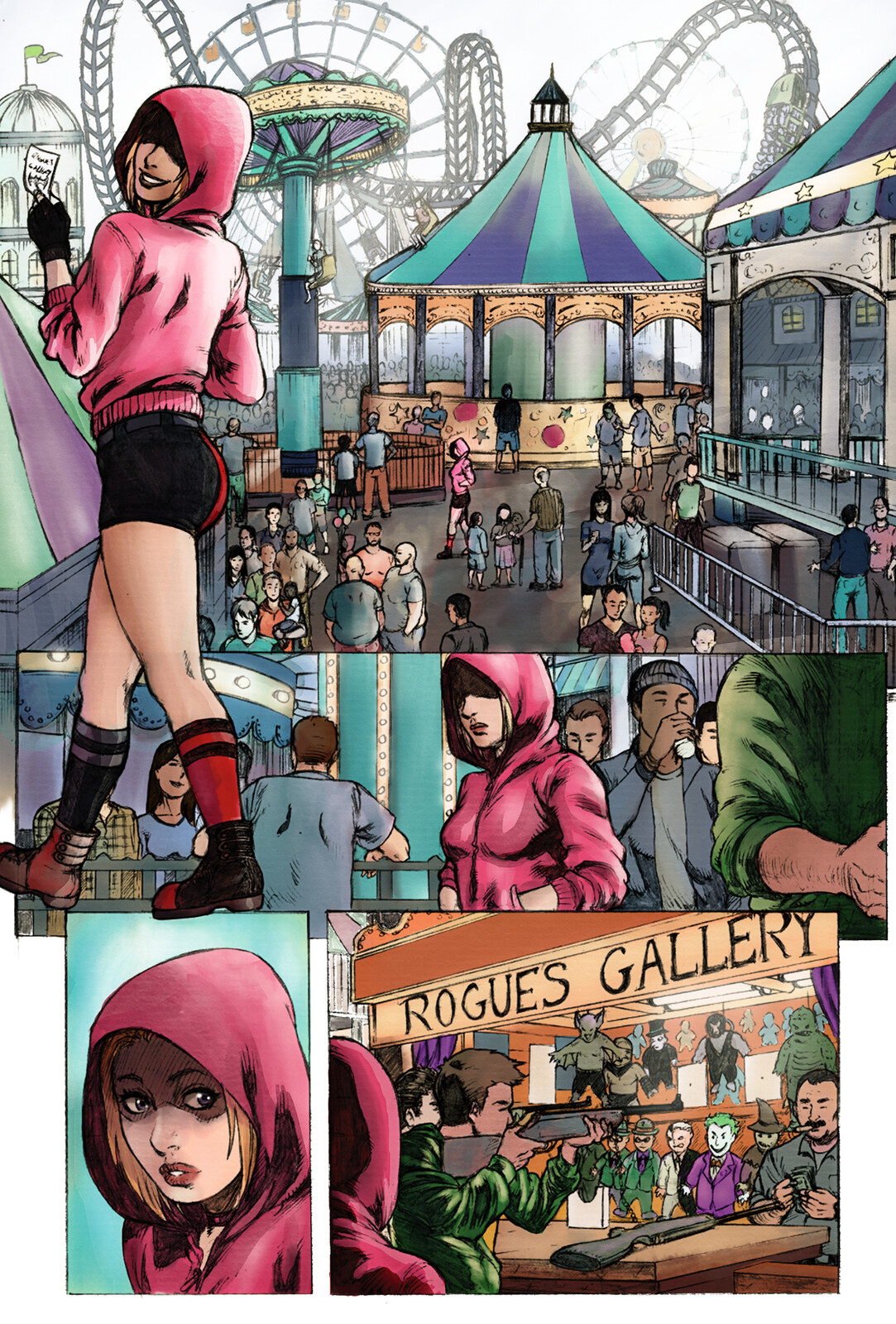 Harley Quinn at the Fair - 4 Pages