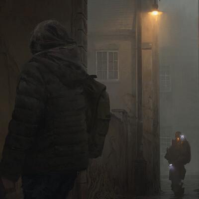 Connor sheehan alleyway beauty render