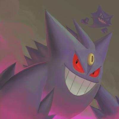 Dark ghost humanoid pokemon gengar 30042020