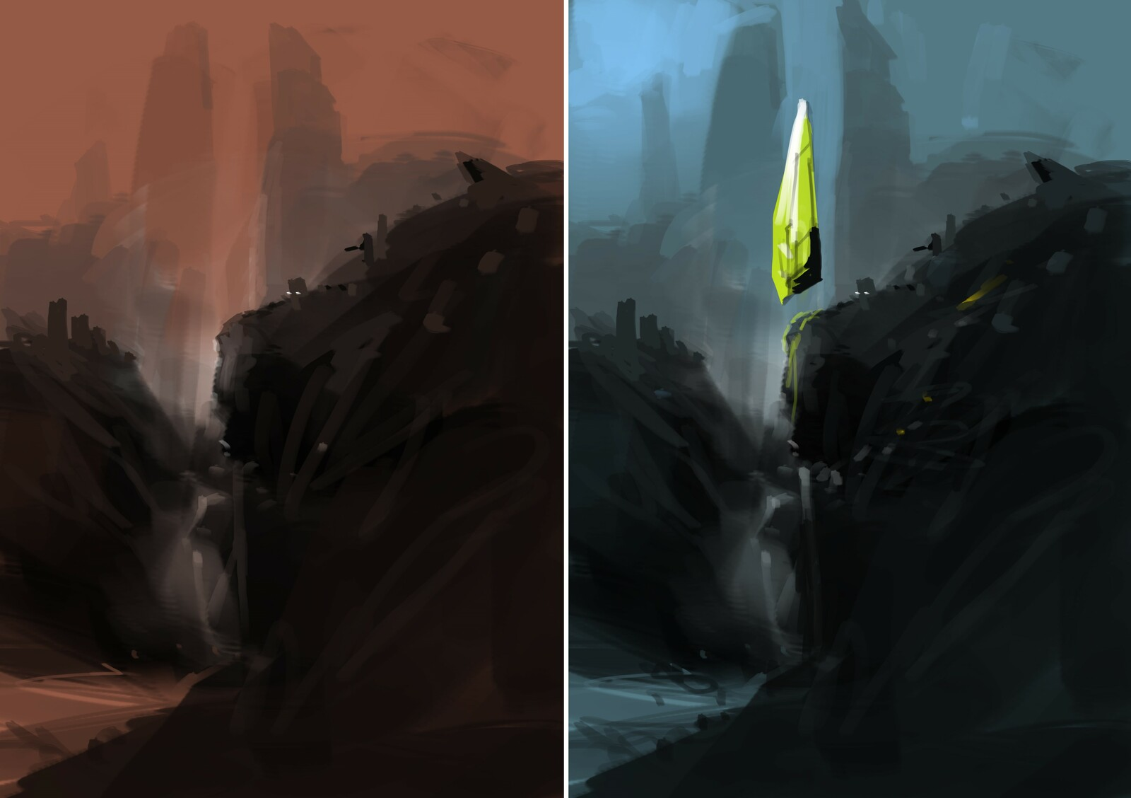 environment concept study for next project