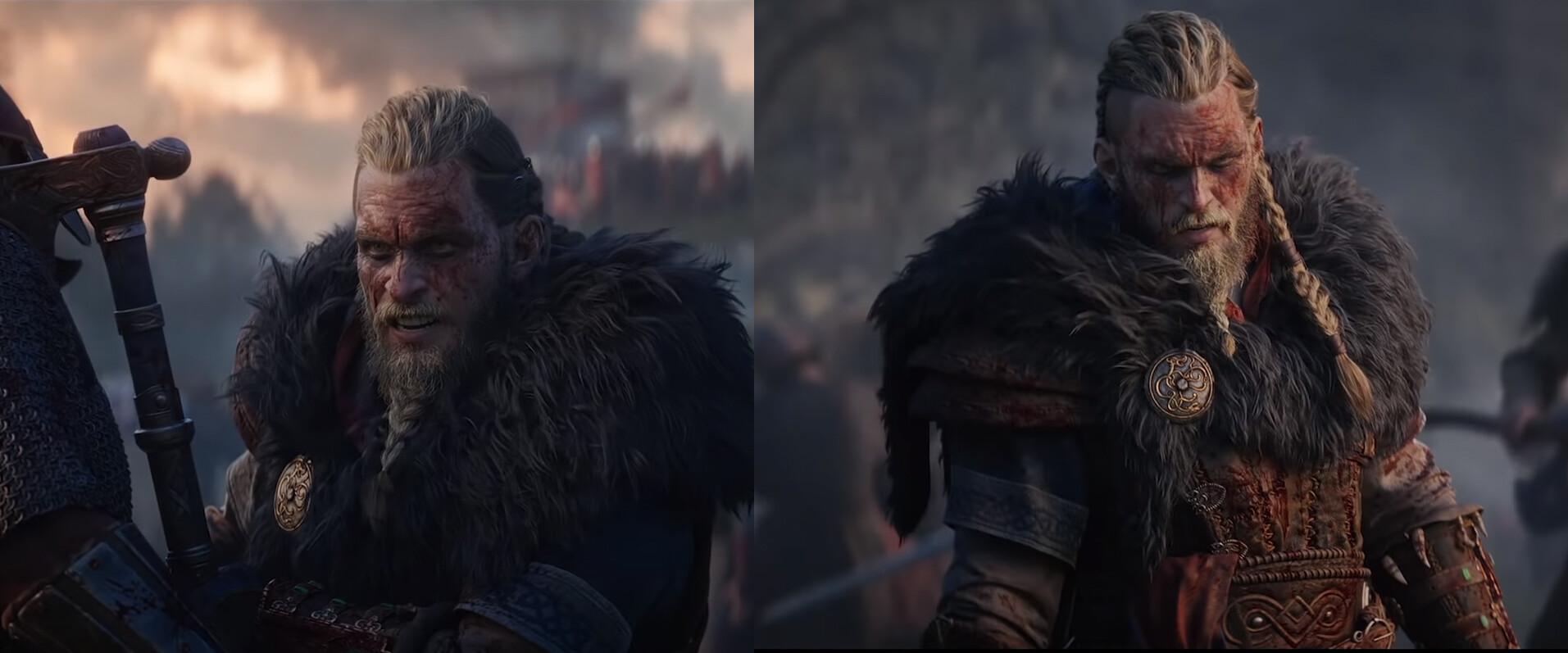 Artstation Eivor Seer Face Model Assassin S Creed Valhalla Anton Gillen
