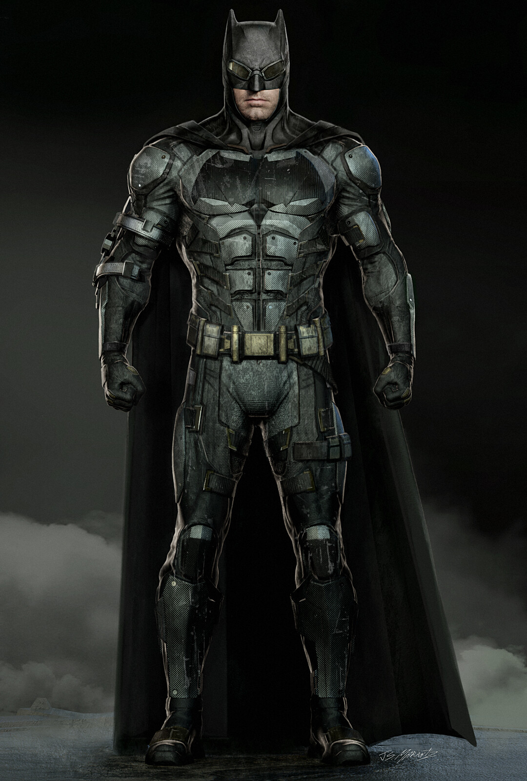 Justice League: Batman Tactical Suit