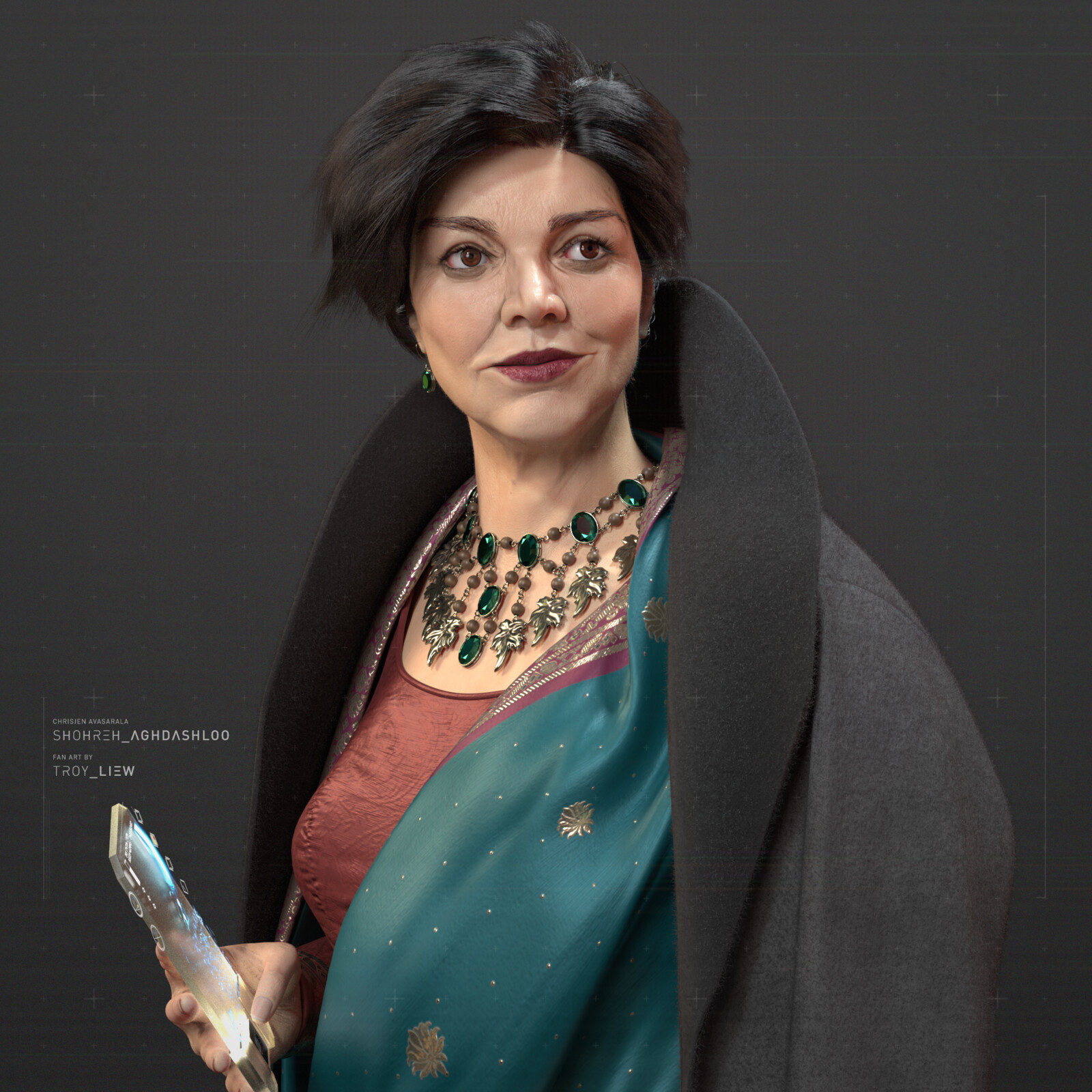 Shohreh Aghdashloo - The Expanse