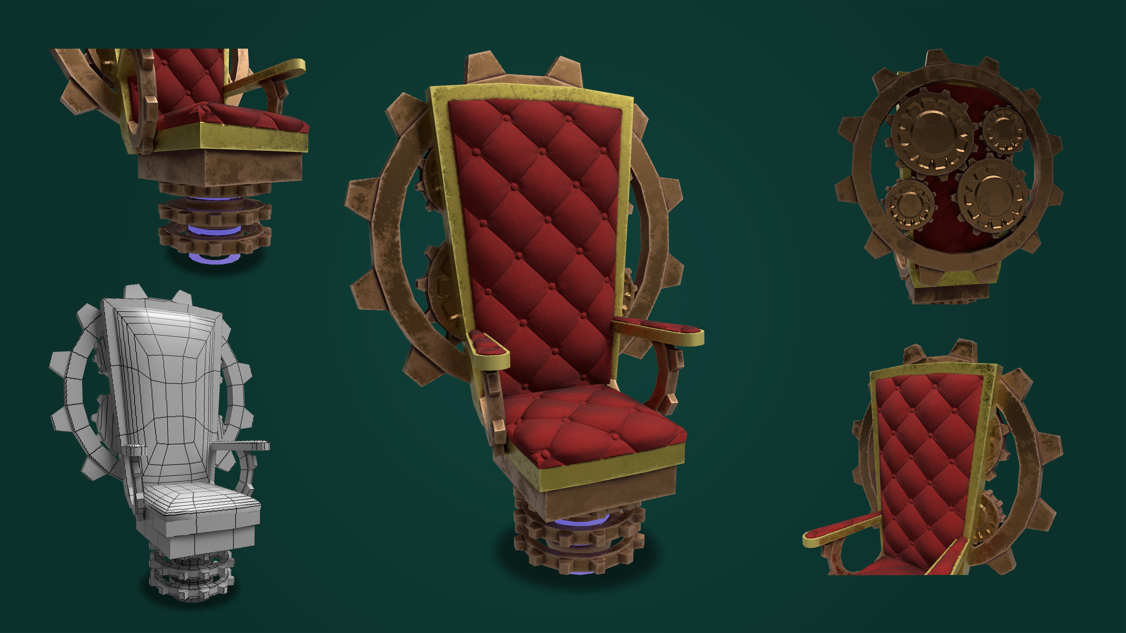 Steampunk Throne.