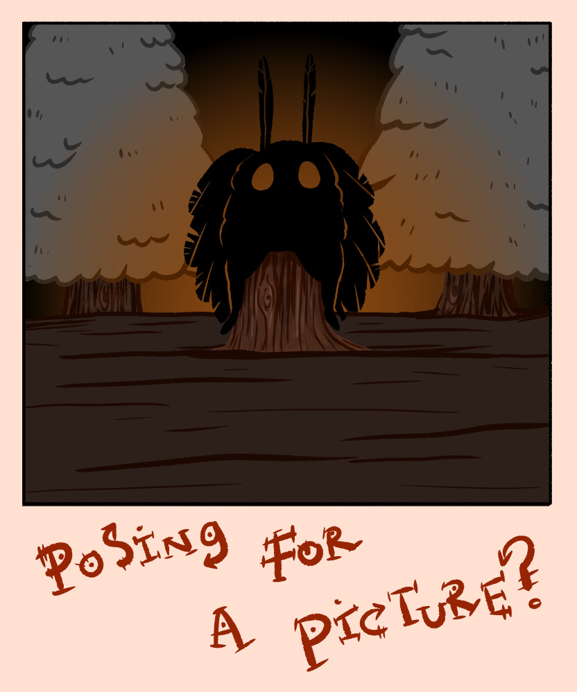 Mothman Polaroid