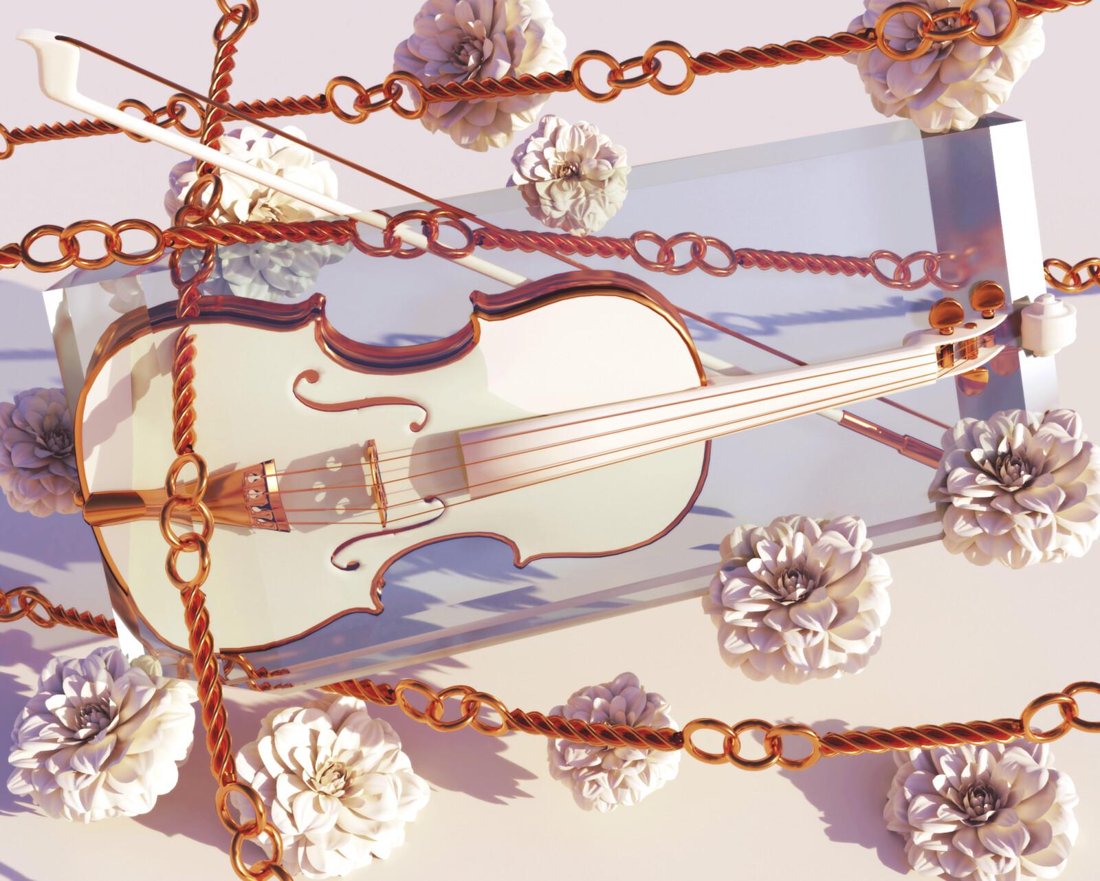 Violin on ice