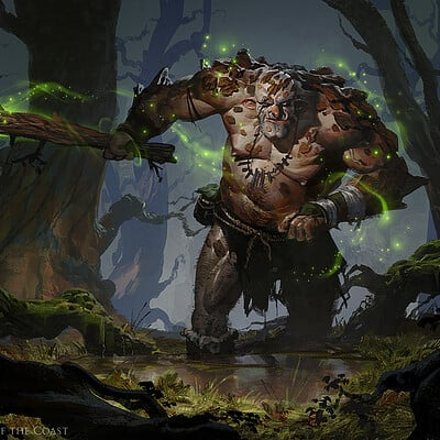 Greg rutkowski barkhide troll 1500