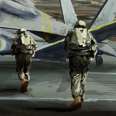 Jarold moreno aircraft concept