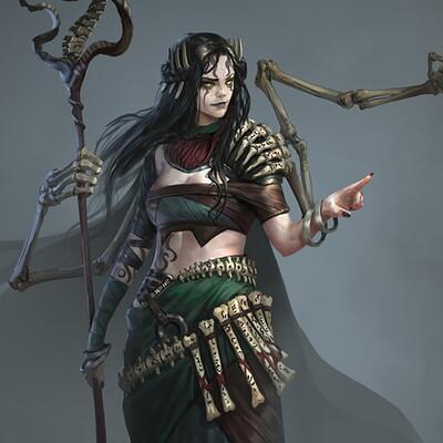 Mikhail palamarchuk bone witch