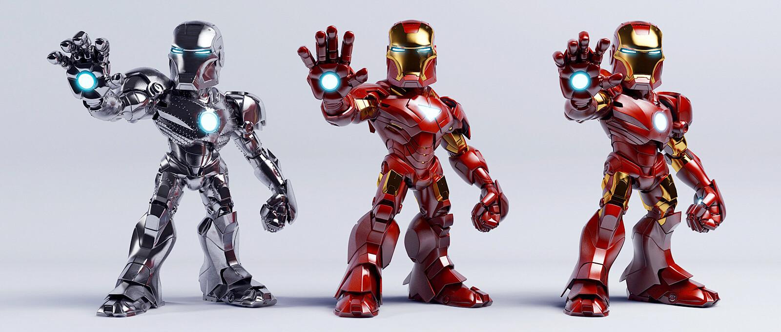 Ironman MK-II-III-VI
