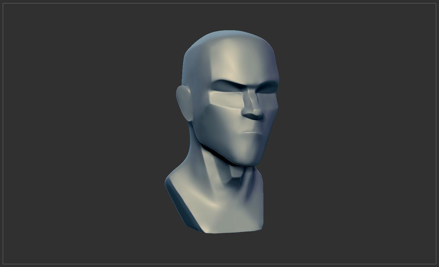Sculpt progression 01