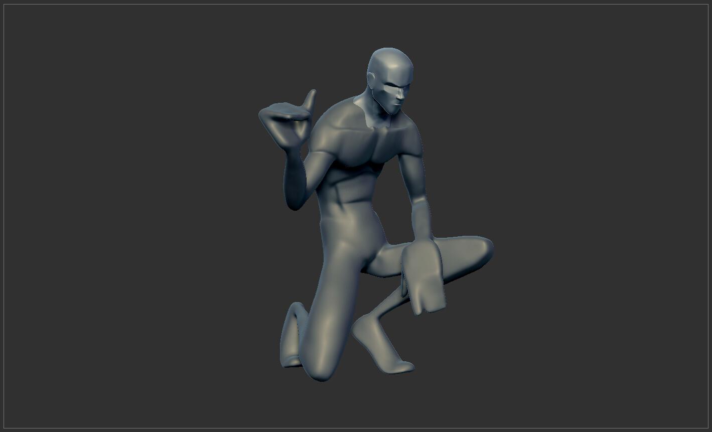 Sculpt progression 02