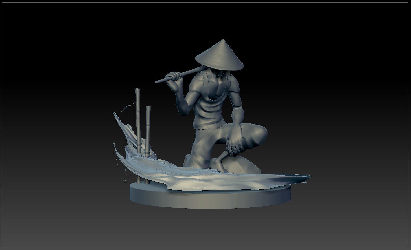 Sculpt progression 04