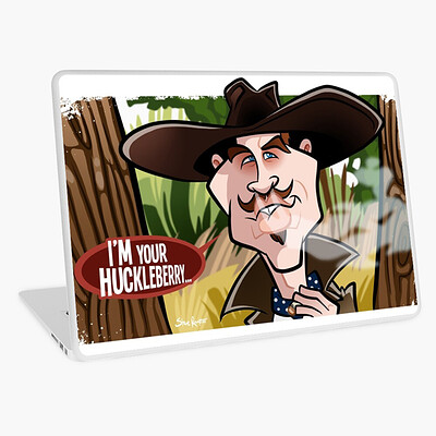 Steve rampton work 47813692 laptop skin