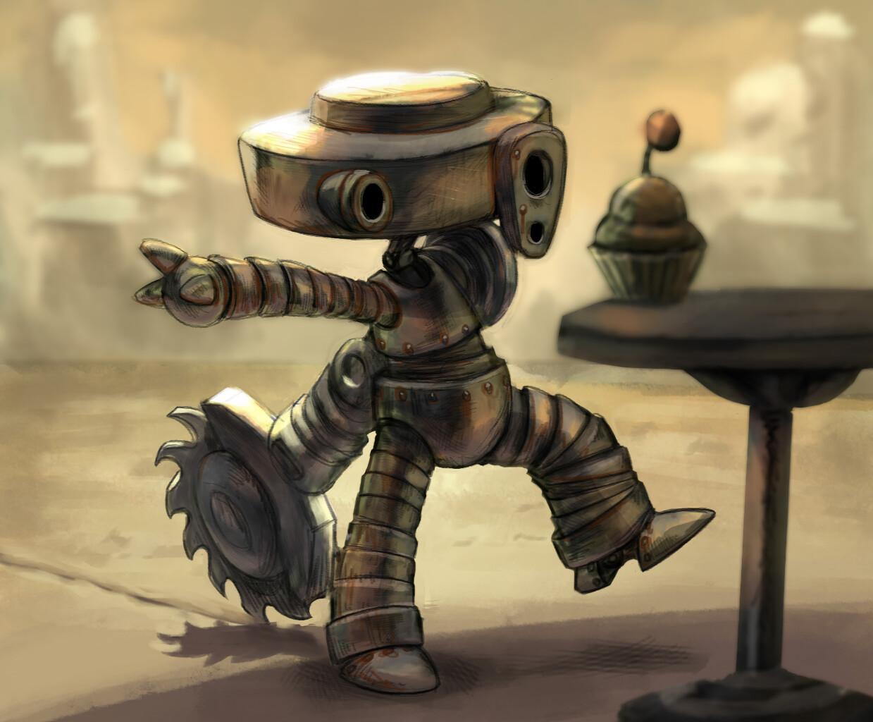 Aediv Baby Robot