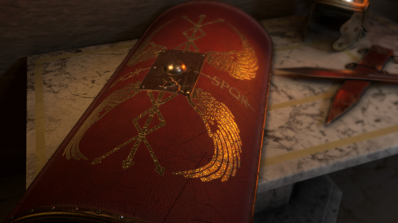 Scutum ( Roman Shield )