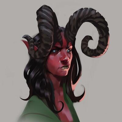 Mikhail palamarchuk demon girl