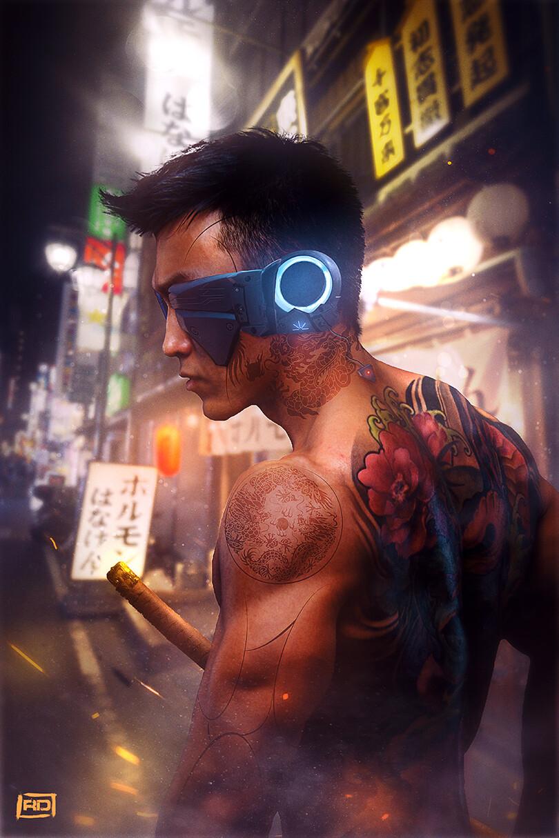 New York 2130 :  Yakuza gang member