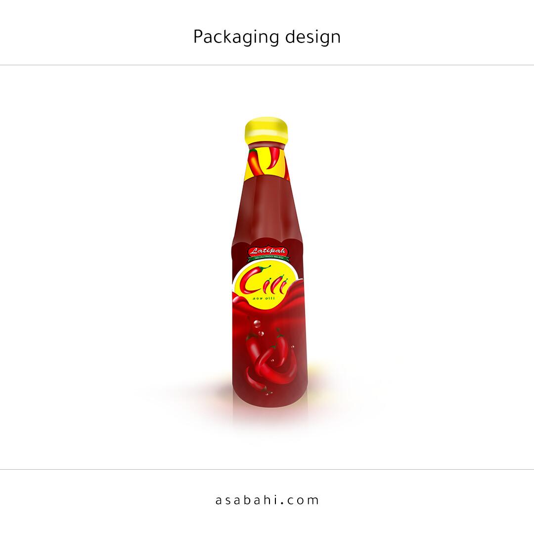 Ketchup bottle design