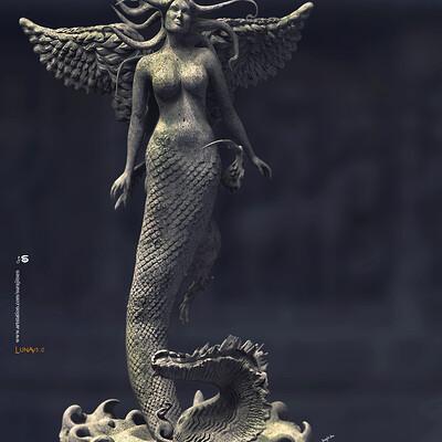 Surajit sen lunav3 0 digital sculpture surajitsen may2020a