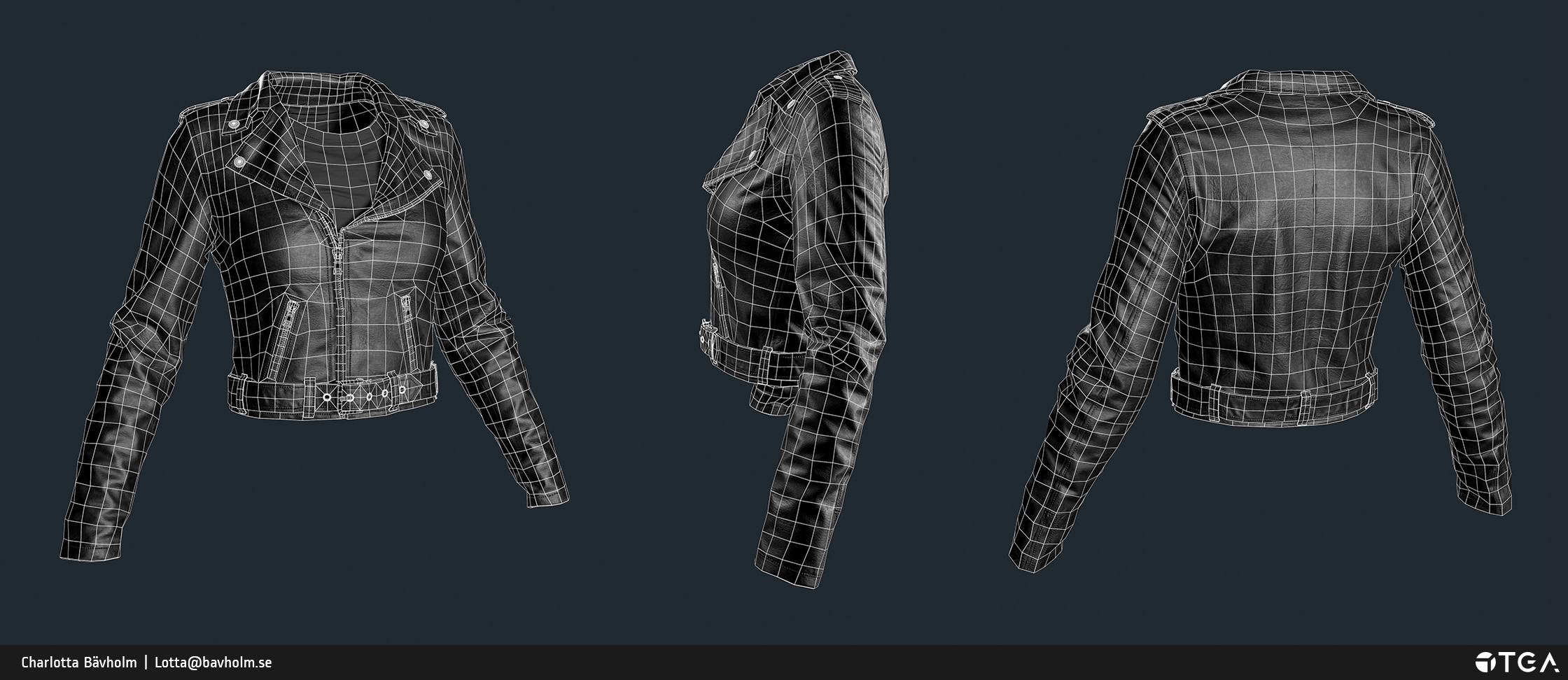 Lowpoly mesh: 11k triangles.