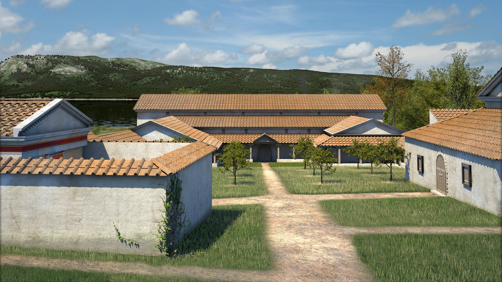 Roman Villa of Weyregg - detail