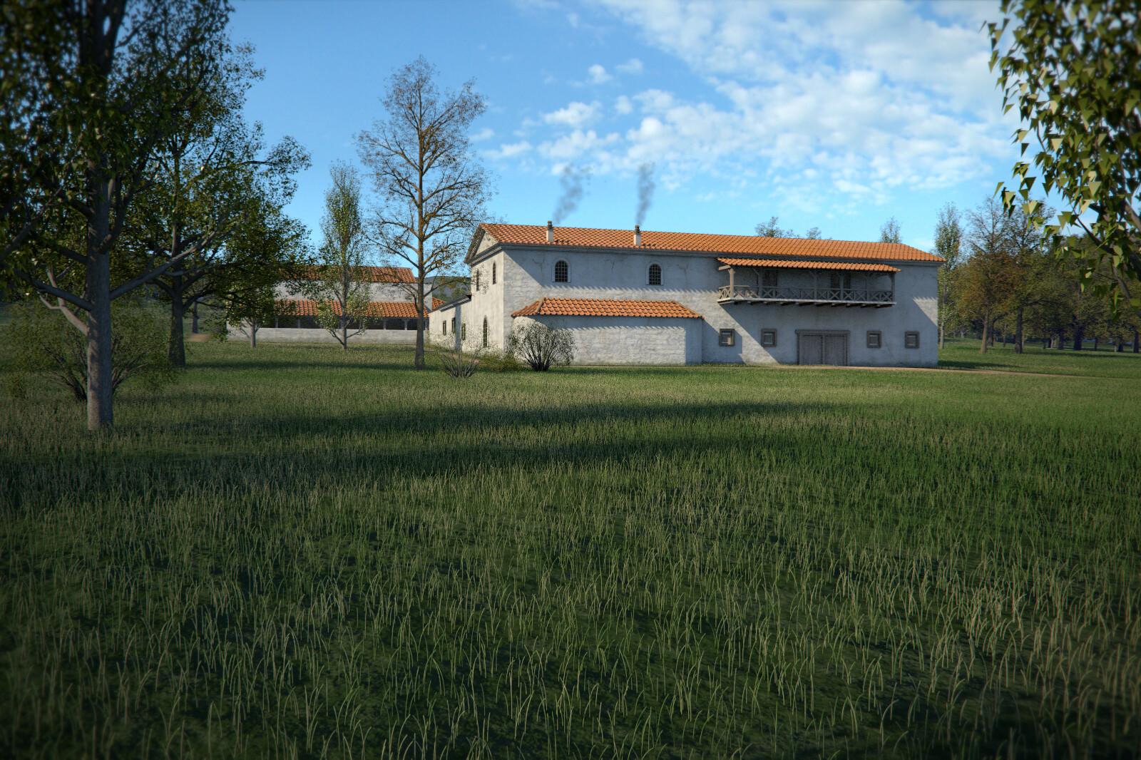 Roman Villa of Weyregg - detail 2