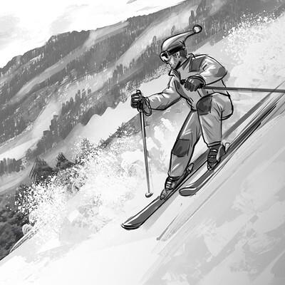 Stephen noble skier01