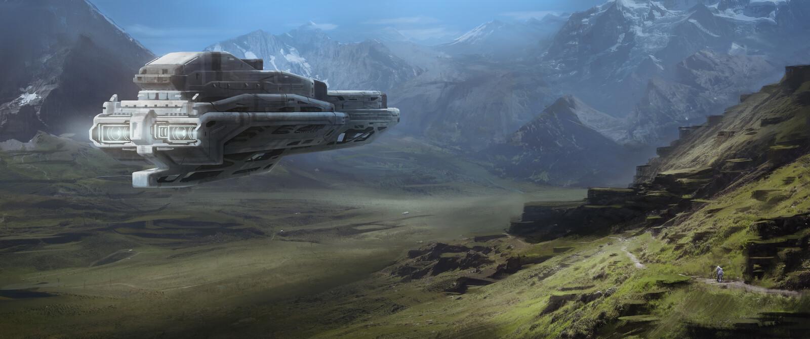 Spaceship Painting .3