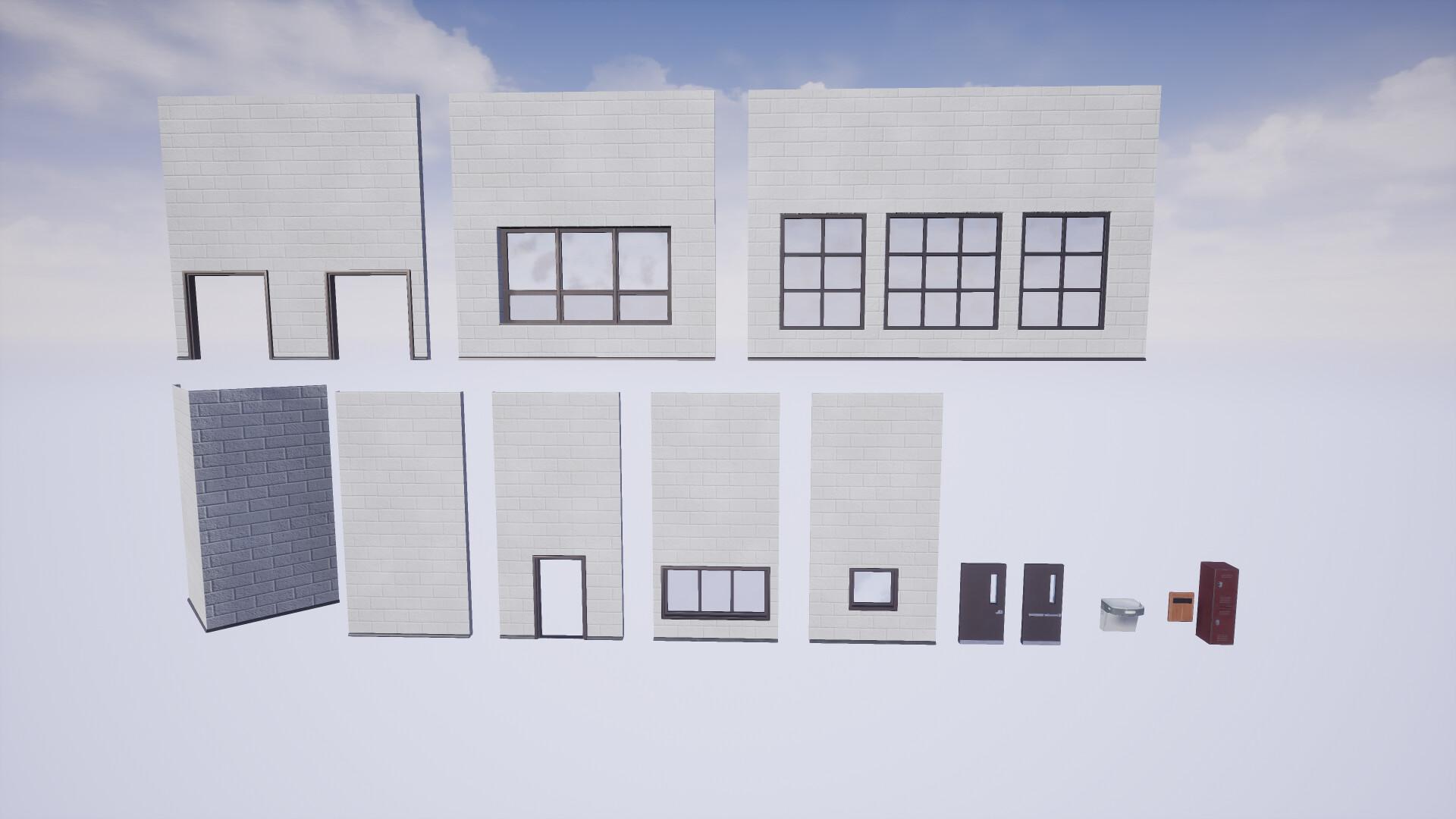 Some modular assets