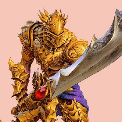 The nrg golden phoenix spellcaster knight web