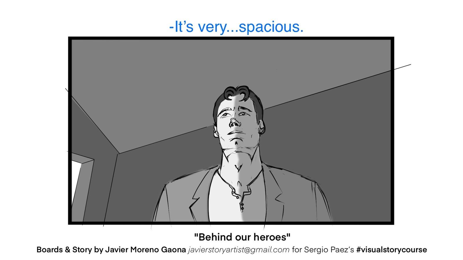 WIP: Behind our heroes.