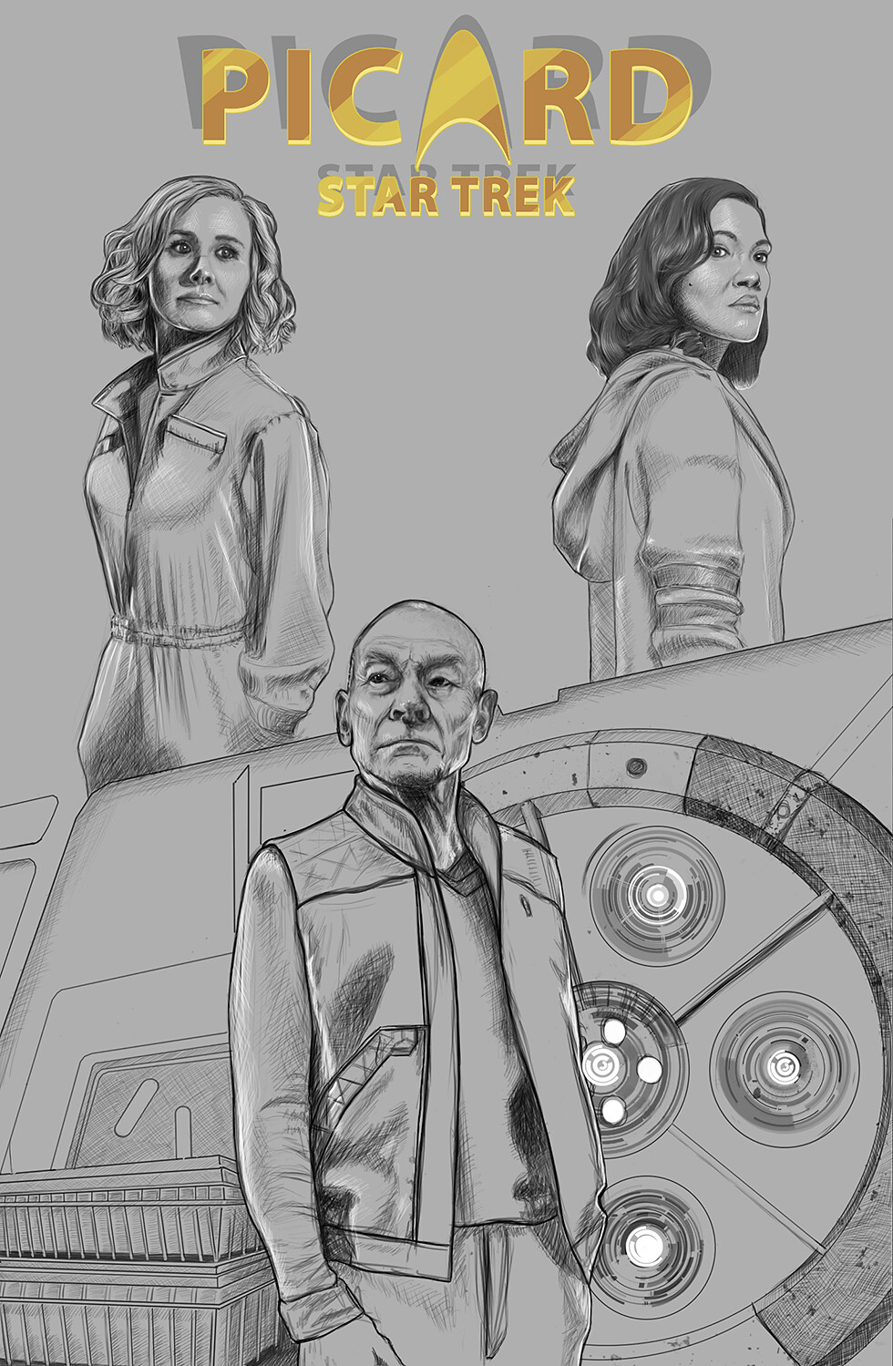 Final sketching
